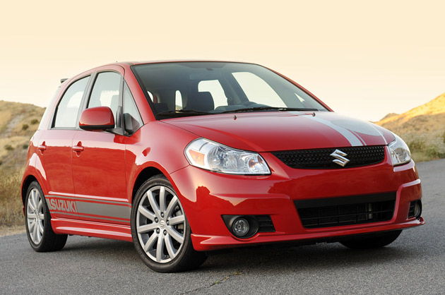 2010 Suzuki SX4 SportBack by RoadRace Motorsports