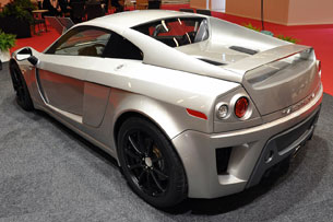 Mastretta MKT at 2010 Paris Motor Show, rear view