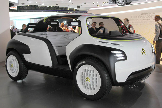 Citroen Lacoste Concept at the 2010 Paris Motor Show