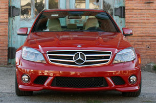 2010 Mercedes-Benz C63 AMG P31 Development Package, front view