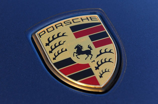 Porsche Badge