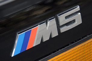 1988 BMW M5 badge