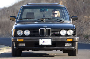 1988 BMW M5, front