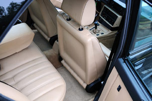 1988 BMW M5 seat backs
