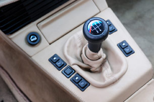 1988 BMW M5 stick shift