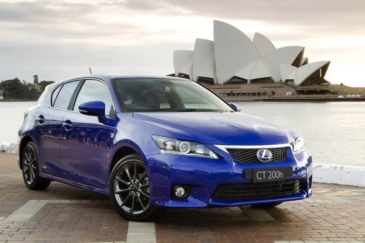 2012 lexus ct 200h gets optional f sport package autoblog. Black Bedroom Furniture Sets. Home Design Ideas