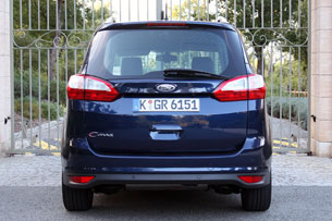2012 Ford Grand C-Max, rear view