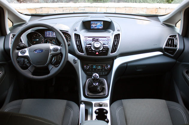 2012 Ford Grand C-Max interior