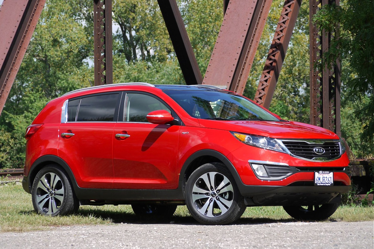 Shakers Kia Official Blog  Kia Sportage Top Crossover Choice