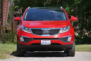 2011 Kia Sportage, front