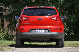 2011 Kia Sportage, rear