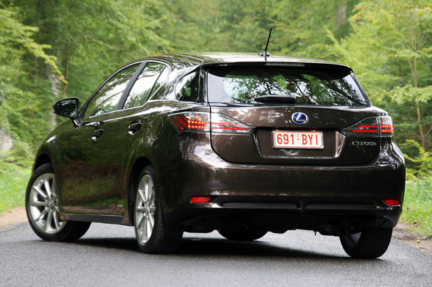 Lexus CT 200h, rear 3/4