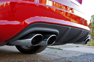 2010 Mercedes-Benz C63 AMG P31 Development Package, exhaust