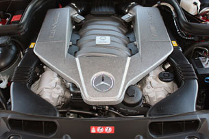2010 Mercedes-Benz C63 AMG P31 Development Package, 6.3-liter V8 engine