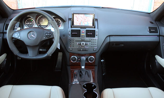 2010 Mercedes-Benz C63 AMG w/P31 Development Package, interior