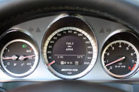 2010 Mercedes-Benz C63 AMG w/P31 Development Package, gauges