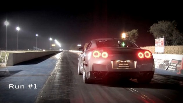 AMS Alpha 10 GT-R at the starting line