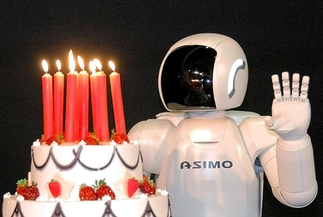 ASIMO turns 10