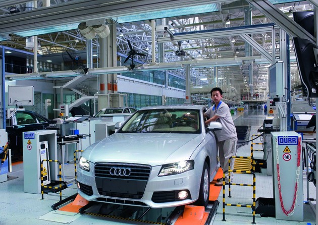Audis Chinese Production Line