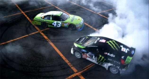 Ken Block and AJ Allmendinger