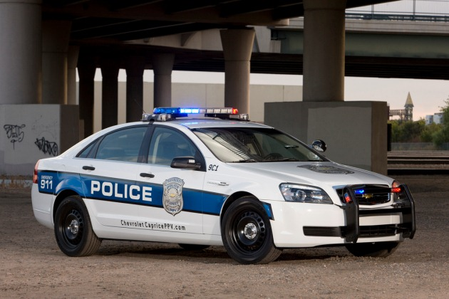2011 Chevrolet Caprice police car
