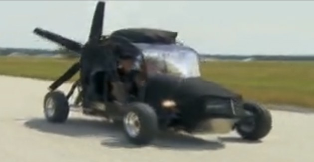 Maverick flying car