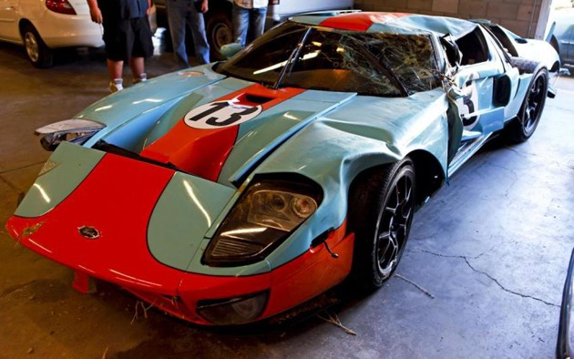 Wrecked customer Ford GT