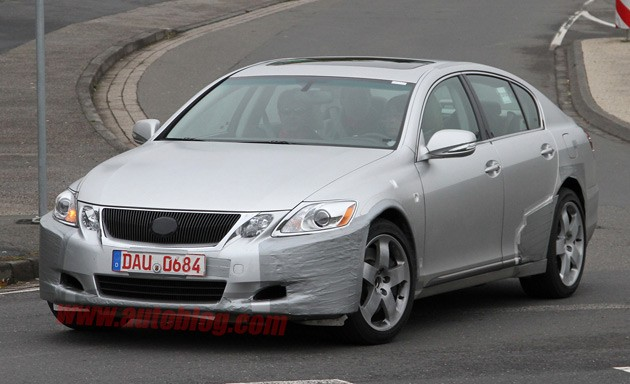 2012 Lexus GS spy shot