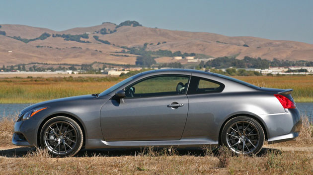2011 Infiniti IPL G Coupe, side view