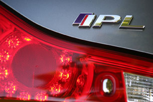 2011 Infiniti IPL G Coupe, IPL badge