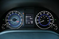 2011 Infiniti IPL G Coupe gauges