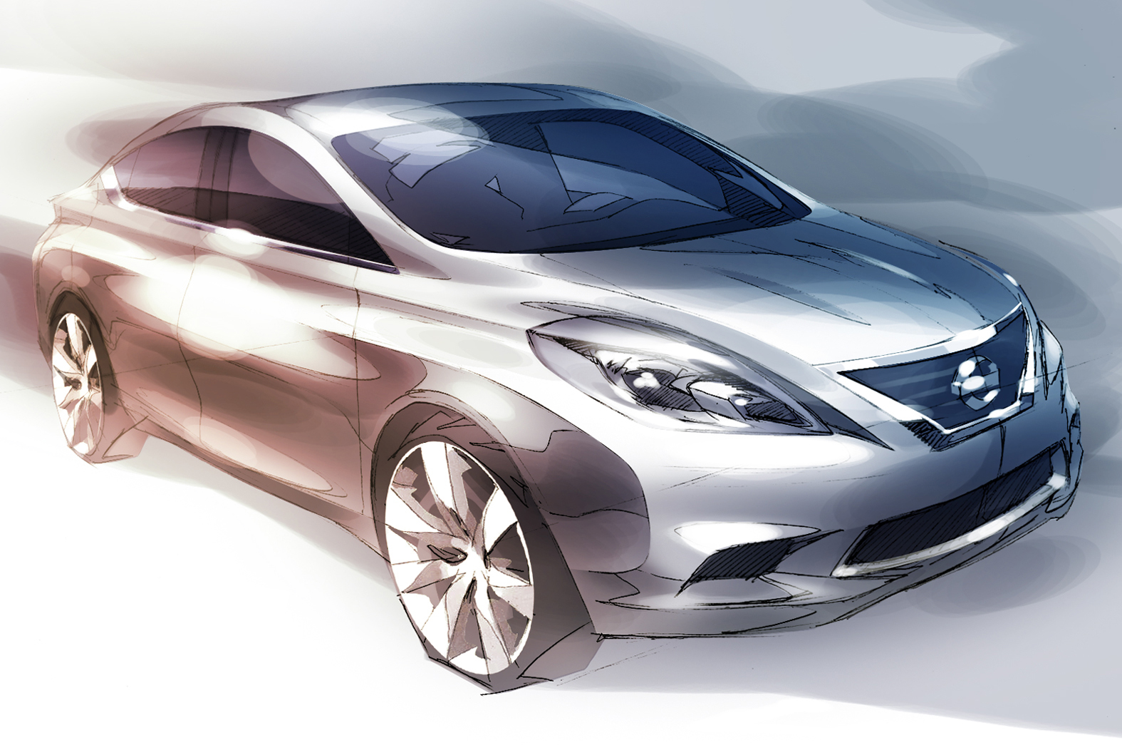 Next Generation Nissan Versa sketch