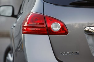 2011 Nissan Rogue taillight