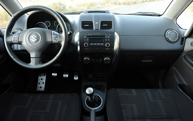 2010 Suzuki SX4 SportBack by RoadRace Motorsports interior