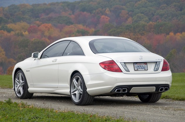 First Drive 2011 MercedesBenz CL63 AMG  Autoblog