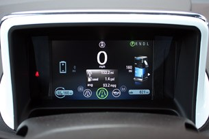 2011 Chevrolet Volt gauges