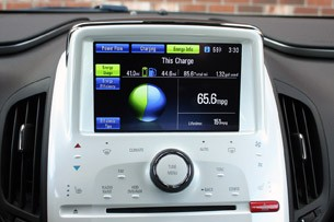 2011 Chevrolet Volt touch screen