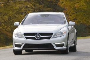 2011 Mercedes-Benz CL63 AMG front 3/4 view
