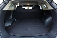 2011 Nissan Rogue rear cargo space