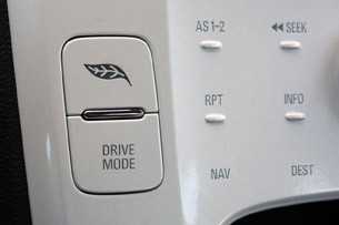 2011 Chevrolet Volt drive mode button