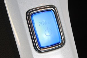 2011 Chevrolet Volt power button