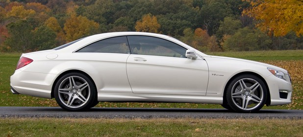 2011 Mercedes-Benz CL63 AMG side view