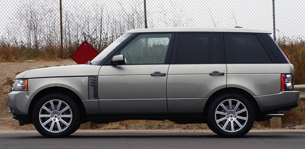 2011 Land Rover Range Rover Supercharged side view