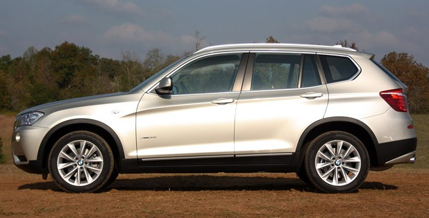 2011 BMW X3 side view