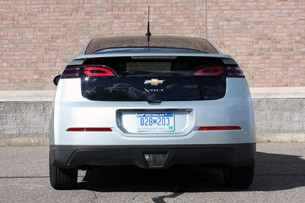 2011 Chevrolet Volt rear view