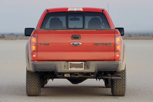 2010 Ford F-150 SVT Raptor 6.2 rear view