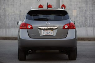 2011 Nissan Rogue rear view