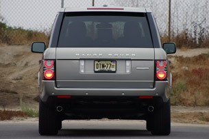 2011 Land Rover Range Rover Supercharged rear view