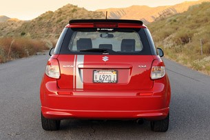 2010 Suzuki SX4 SportBack by RoadRace Motorsports rear view