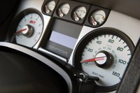2010 Ford F-150 SVT Raptor 6.2 gauges